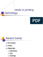 Recent Trends in Printing Technology