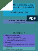 JSM 6053 - Chapter 1 - Principle of GIS v 1.0-LV
