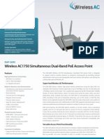 DAP 2695 - 802.11ac Dual-Band PoE Access Point