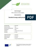 Standard Energy Audit Procedure -Greenhospital
