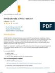 Introduction to ASP.net Web API - CodeProject