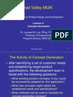 Shad Concept Generation 3