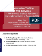 Service-Oriented Testing-Tsinghua Sept 2009