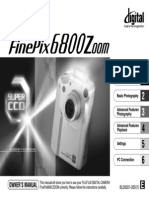 Fine Pix 6800 Manual