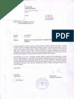 odgovor MDDSZ na dopis YHD Uvodno poročilo o izvajanju Konvencije o pravicah invalidov