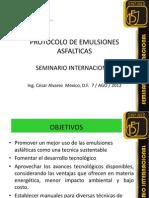 7 - Protocolo de Emulsiones