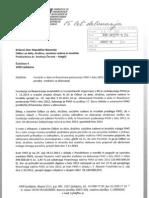 Poročilo o delu in finančnem poslovanju FIHO 2012-obrazložitev porabe sredstev za delovanje