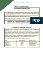 Planning List - SEA 5-2-14