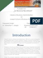 Human Resource Recruitment