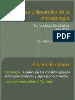 1- Clase 1-Origenes y Desarrollo Antropologia