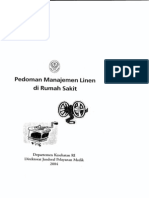 Pedoman Manajemen Linen RS