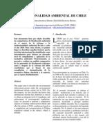 Paper Institucionalidad Ambiental Chile