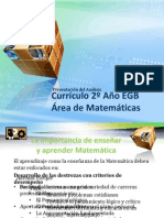 Elementos Matematica 2º