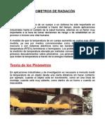 Pirometro de Radiacion