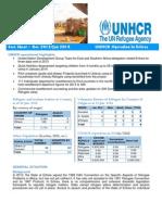 - ERITREA Operation Fact Sheet - Dec 2013 - Jan 2014 - _ UNHCR Reg, UN Age & Emb_