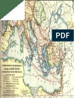 Mapa Kretanja Vojske u Prva Tri Krstaska Rat