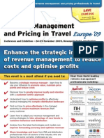 EyeforTravel - Revenue Management & Pricing in Travel Europe 2009