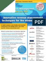 EyeforTravel - Hotel Revenue Management & Pricing Middle-East 2008