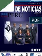 Carta de Noticias IEEE PERU ENERO