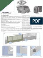 Manual de instruções para instalação de motores Rossi