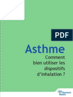 Asthme Fiches 2010