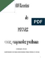 100 Rec Et as Pizza Empanada