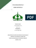 Tugas Disaster Plan Yunita Wulandari. 08.263