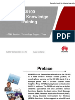 HUAWEI C6100 CDMA 1X Mobile Phone Knowledge Training
