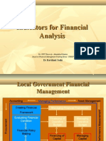 6. Indicators for Financial Analysis)- For CEPT Students