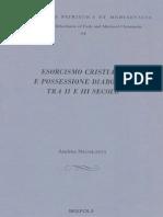 Nicolotti_ Esorcismo Cristiano