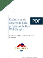Estandares de Desarrollos Web Dynpro para SAP Portal