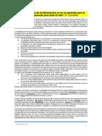 reseña historica de la pedagogia  ciberespacial