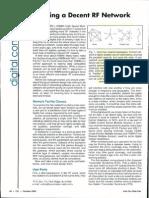 Building a Decent RF Network