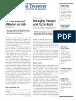 International Treasurer - March 2004 - Treasury in Brazil, FX Volatility