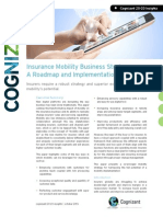 Insurance Mobility Business Strategy