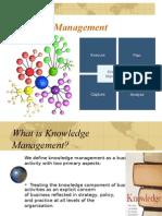 Knowledge Mgt