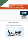 Consumer Engagement in Rural Areas _Sankar A