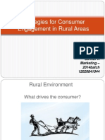 Consumer Engagement in Rural Areas _Sankar A