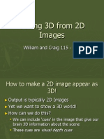 Seeing 3D From 2D Imagesasdad