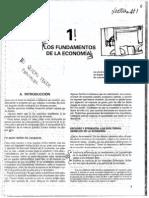 Lectura 1 - Los Fundamentos de la Economía