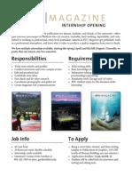 BYU Magazine Internship