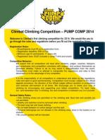 Pump Comp 2014 Rules and Regulation