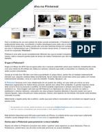 PINTEREST - Promova o Seu Trabalho No Pinterest