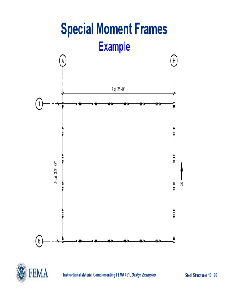 Example 1 Special Moment Frames Beam Structure Structural Steel
