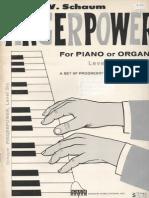 Fingerpower Level Six - John Schaum