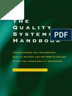 Iso 9000 - Quality Handbook