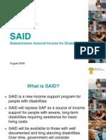 Introducing SAID