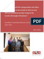 What roles could the eating habits and other