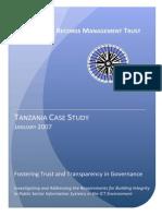 IRMT Case Study Tanzania