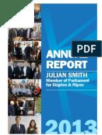 Julian Smith MP - Annual Report 2013